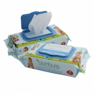 Bambure Natural Wipes